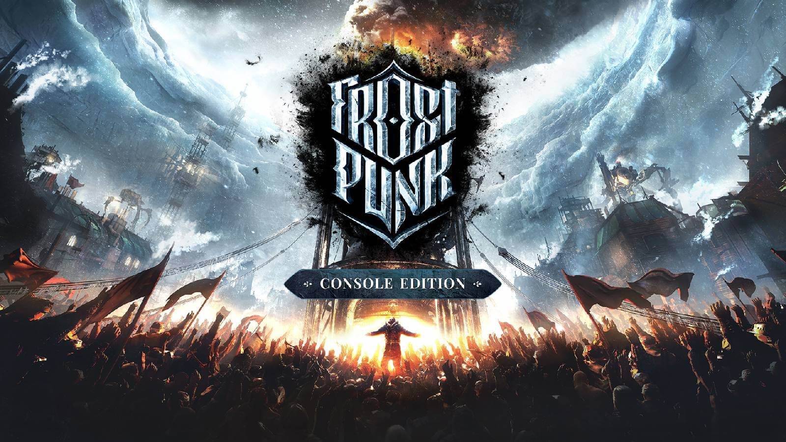 Frostpunk Review Titelbild