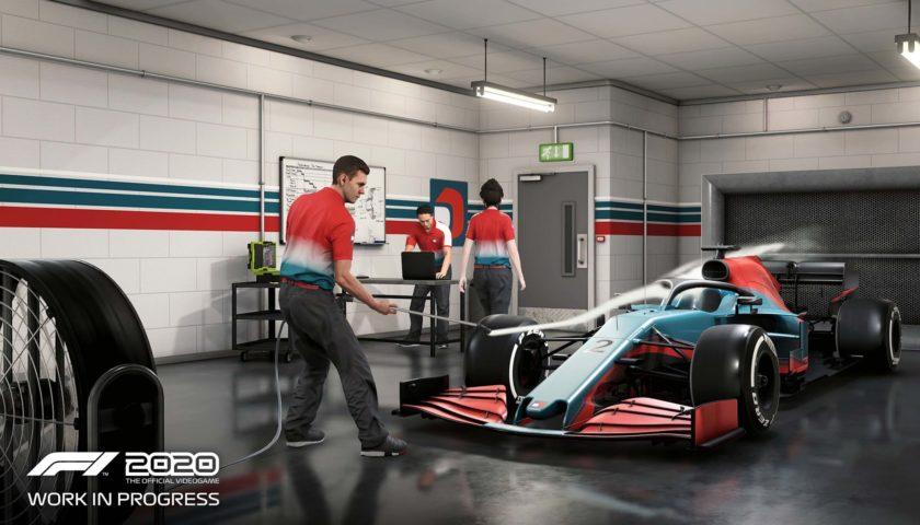 F1 2020 - My Team Modus